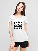 Женский комплект Adidas Originals футболка+шорты