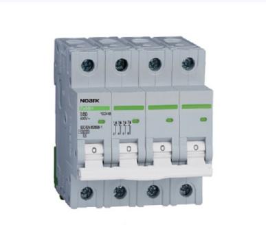 Автоматичний вимикач Noark 10кА х-ка B, 16А, 4P, Ex9BH, фото 2