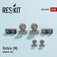 Dassault Rafale (M) wheels set 1/48  RES/KIT 48-0033