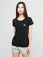 Женский комплект Adidas Sport футболка+шорты
