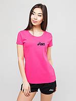 Женский комплект Asics футболка+шорты, асикс, фото 1
