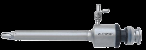 Безпечний троакар з силіконовим клапаном, 10х95 мм LPM-0701.6