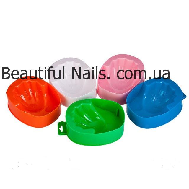 Ванночки для маникюра, пластиковые, цвета в ассортименте