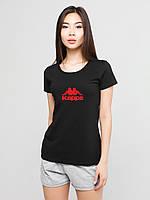 Женский комплект Kappa футболка+шорты, каппа, фото 1