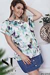 """Блуза ботальная нежные расцветки """"Софт"""" , фото 3"""