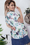 """Блуза ботальная нежные расцветки """"Софт"""" , фото 4"""