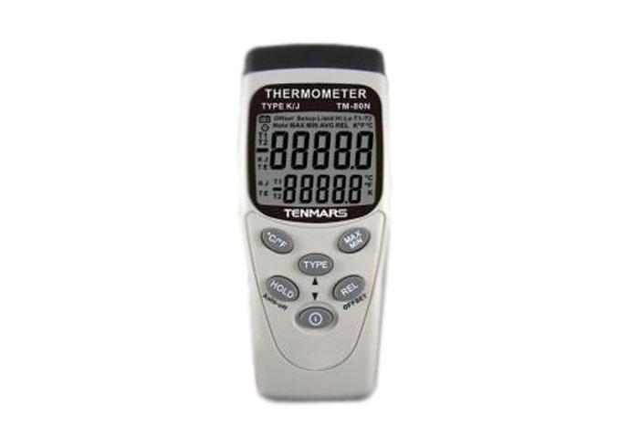 TENMARS ТМ-80N Термометр (К, J) з термопарою