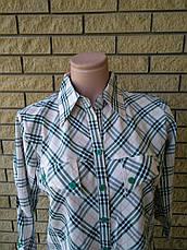 Рубашка женская коттоновая COMO, фото 3