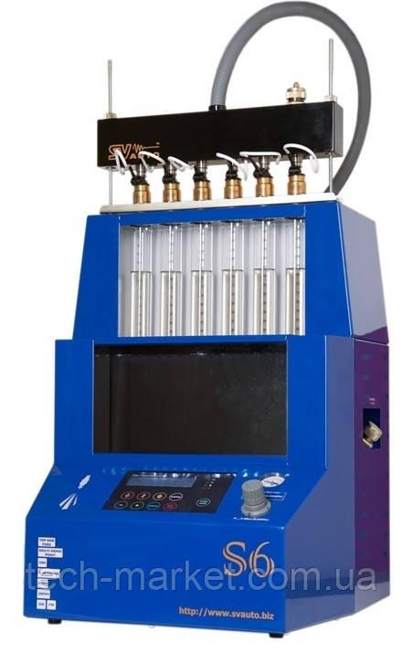 Стенд диагностики и очистки электронных форсунок Триумф S6