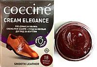 Крем Червонувато коричневий Кочині Coccine для гладкої шкіри з губкою 50мл
