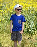 Костюм двойка шорты футболка для мальчика рост 98-134 см