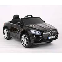 Электромобиль детский Mercedes-Benz M 3694 EBLRS-2 сидение эко-кожа, мягкие колеса