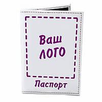 Обложка для паспорта Кожзам на каркассе