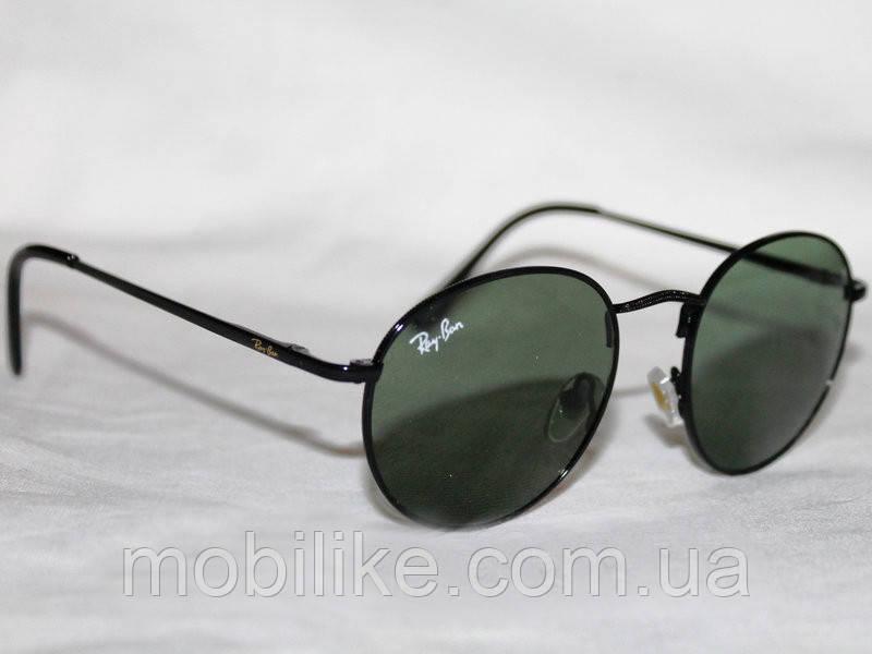 Солнцезащитные очки Ray Ban Round(КОПИЯ) + Подарок!