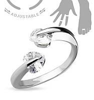 Кольцо на фалангу «Скарлетт»