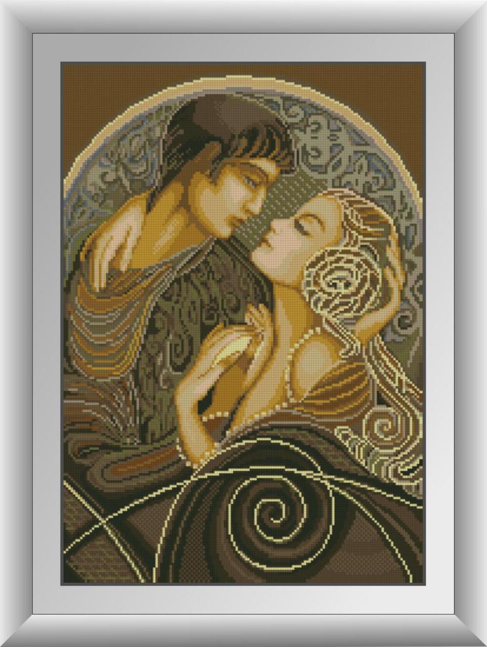 """30695 Набор алмазной живописи """"Ромео и Джульетта"""""""