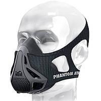 Тренировочная маска PHANTOM ЧЕРНАЯ L и M, СЕРАЯ L