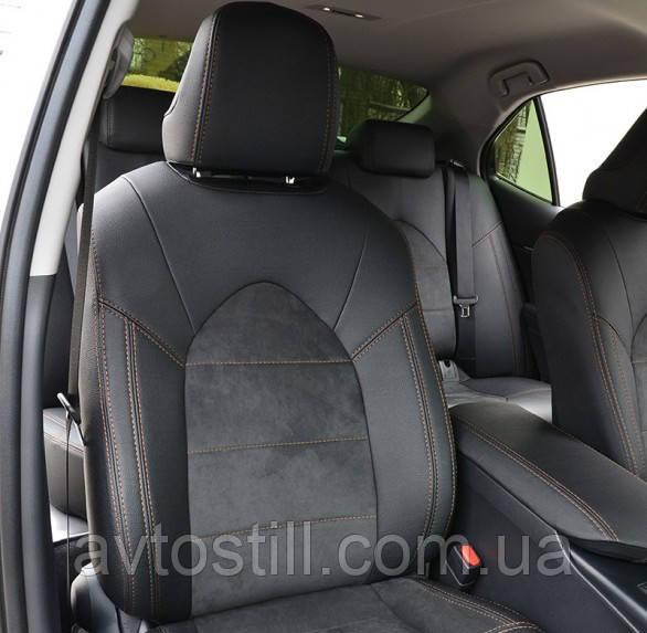 Чохли на сидіння Toyota Camry XV 70 (2017- ..)