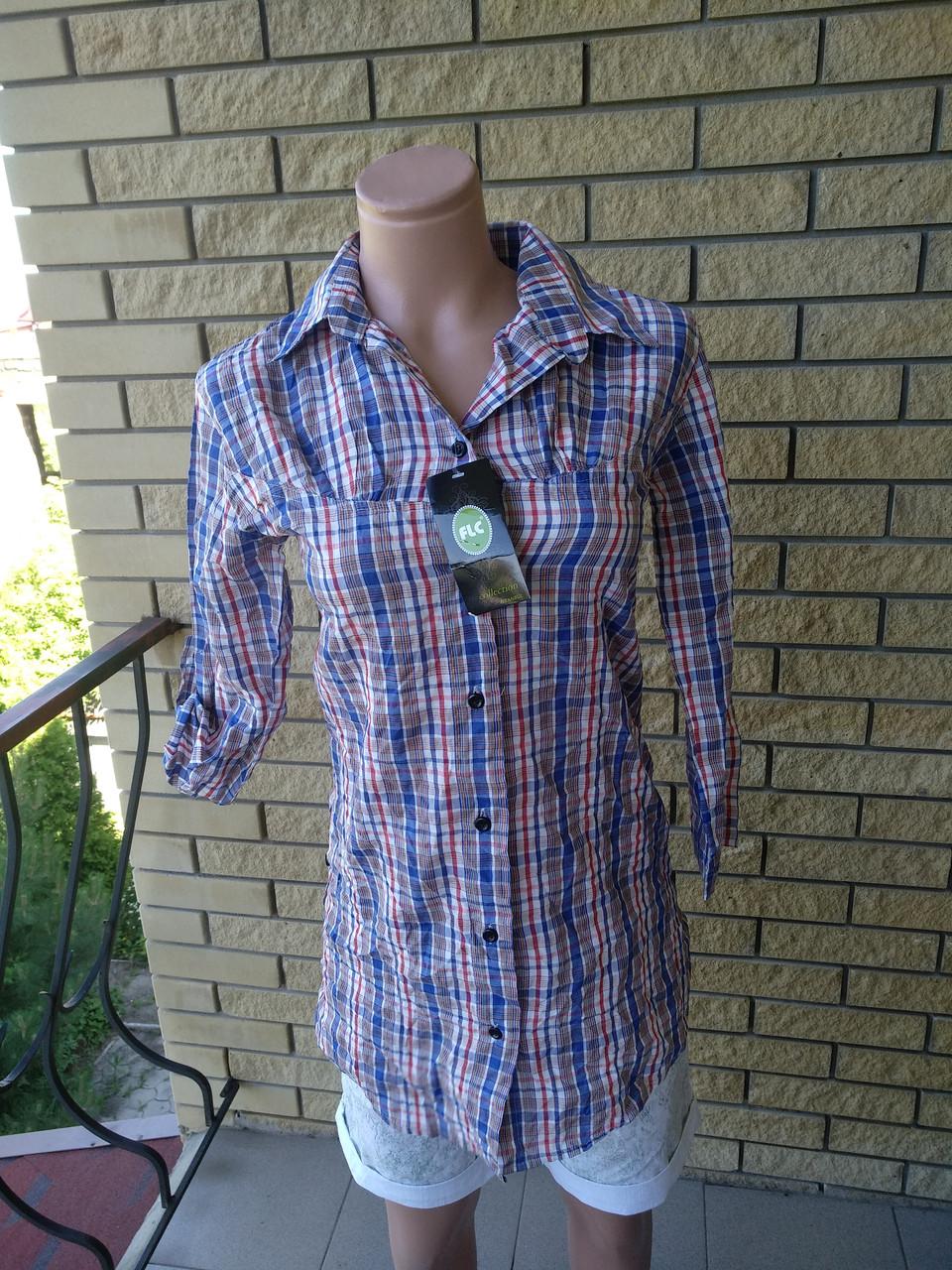 Рубашка женская коттоновая FLC
