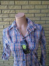 Рубашка женская коттоновая FLC, фото 3