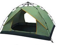 Палатка туристическая 4-х местная 200x200x130 авто разлаживание