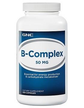 Витамины GNC B-Complex 50 mg 250 caps