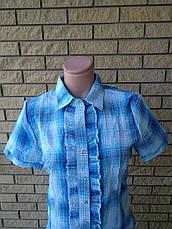 Рубашка женская коттоновая FASHION, фото 3