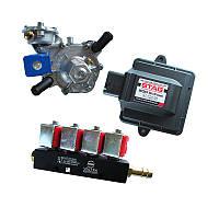 Комплект STAG 200 GoFast, редуктор Alaska, форсунки Valtek, фильтр, датчик темп. (с Польским МАП сенсором)