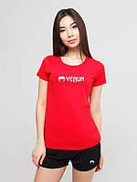 Женский комплект Venum футболка+шорты, венум, фото 1