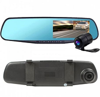 Видеорегистратор зеркало с камерой заднего вида DVR  4.3