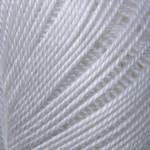 """Yarnart Lily """"0000"""" Хлопковая для Ручного Вязания"""
