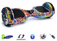 "Гироборд Smart Balance Wheel 6,5"" Original Граффити синий"