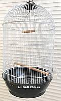 Круглая клетка для птиц ™️ Золотая клетка Color mix 40*70