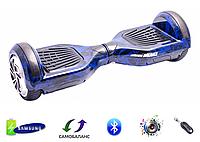 """Гироборд Smart Balance Wheel 6,5"""" Original Пламя синее"""