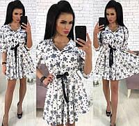 Женское платье с принтом, материал - супер софт