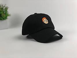 Кепка бейсболка Рик и Морти (Морти черная)