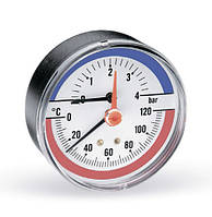 Watts F+R818 (TIM 80 0-6Bar 0-120°C) (Германия), фото 1