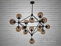 Люстра Loft на 15 ламп молекула  60019/15