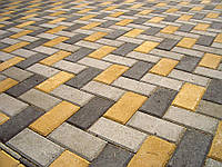 КИРПИЧ СТАНДАРТНИЙ (200Х100) тротуарная плитка