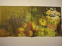 "Салфетка для декупажа ""Натюрморт"", 33х33 см, 10 , фото 1"