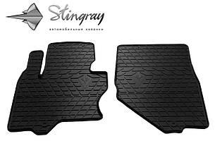 Infiniti QX70 2013- Комплект из 2-х ковриков Черный в салон
