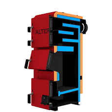 Котел на твердом топливе Альтеп Duo Plus 31 кВт Доставка бесплтно!, фото 3