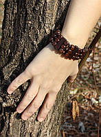 Деревянный браслет №1