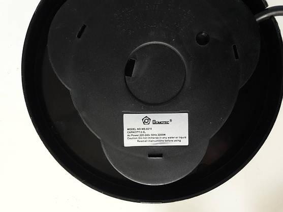 Электрочайник Стеклянный с LED Подсветкой Чайник Электрический Чёрный (ВидеоОбзор), фото 3