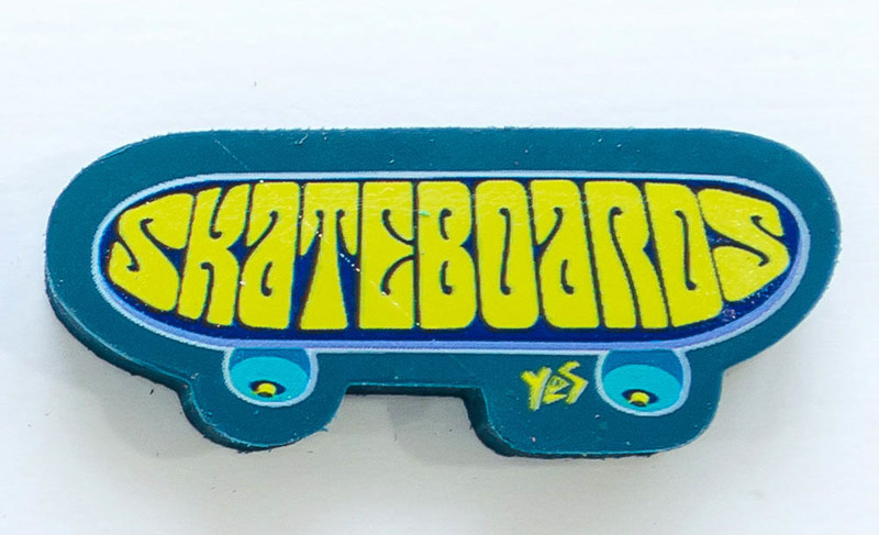 Ластик Yes Skateboards 560389