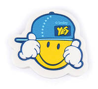 Ластик Yes Smiley World(blue) 560411