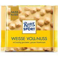 Шоколад Ritter Sport Weisse Voll-Nuss 100 гр.