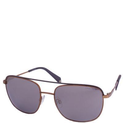 Солнцезащитные очки Polaroid Очки мужские с ультралегкими поляризационными  зеркальными линзами POLAROID (ПОЛАРОИД) P2056S-21058LM 811b3d041be6c