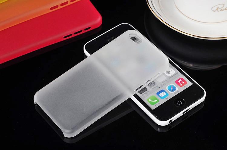Ультра тонкий чехол iphone 5с цвет черный, белый