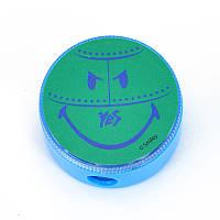 Точилка круглая ''Smiley World''(blue)